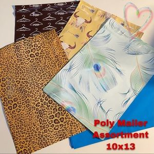 Poly Mailer Assortment 10x13 50 in all
